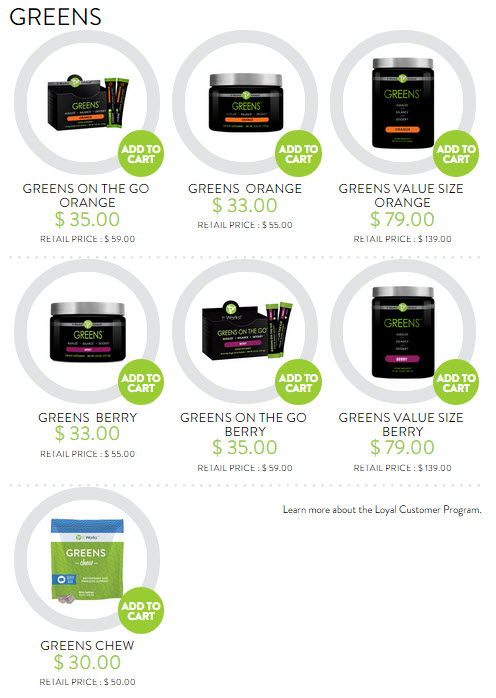 it works greens