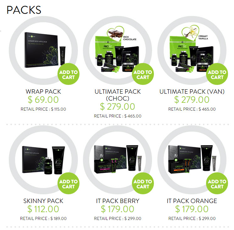 it works packs